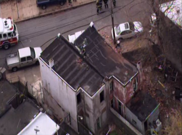 Officials are investigating a building collapse in North Philadelphia. The incident was first reported around 10:32am in the 1100 block of W. Ontario Street.