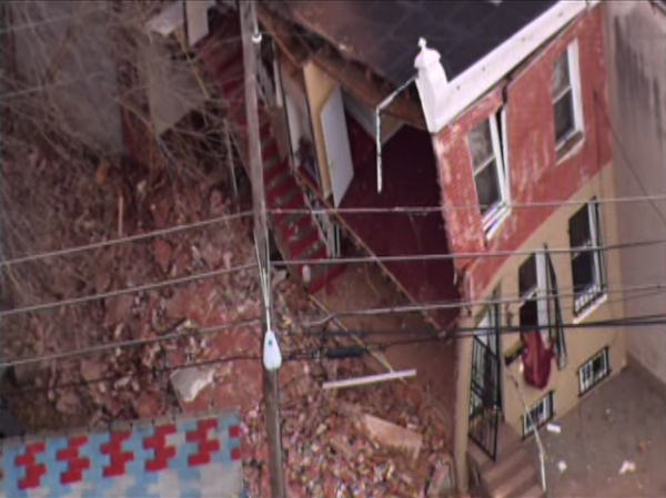 "<div class=""meta ""><span class=""caption-text "">Officials are investigating a building collapse in North Philadelphia. The incident was first reported around 10:32am in the 1100 block of W. Ontario Street.</span></div>"