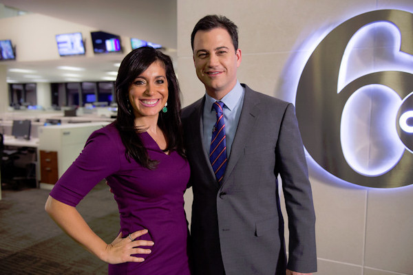 Jimmy Kimmel visits 6abc