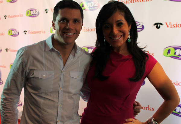 "<div class=""meta image-caption""><div class=""origin-logo origin-image ""><span></span></div><span class=""caption-text"">Action News reporter Alicia Vitarelli and meteorologist Adam Joseph attend Q102's Jingle Ball 2012 presented by XFINITY, at Wells Fargo Center on December 5, 2012 in Philadelphia. (6abc/Brock Koller)</span></div>"