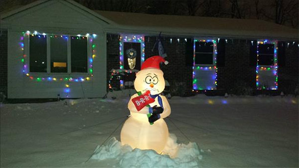 Action News viewer Beth Wylot sent us this creative snowman photo!
