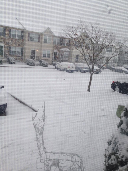 Photo from viewer Zach Cox in Bear, Delaware