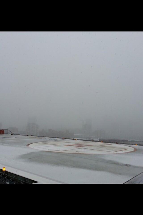 Photo from viewer John Mick: The view from the PennSTAR Flight Deck atop the University of Pennsylvania