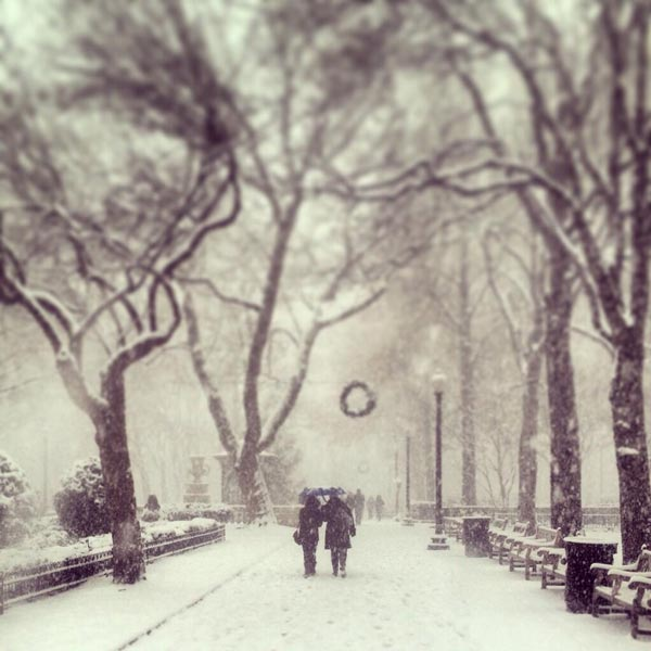 Photo from viewer Meg Barrett in Rittenhouse Square