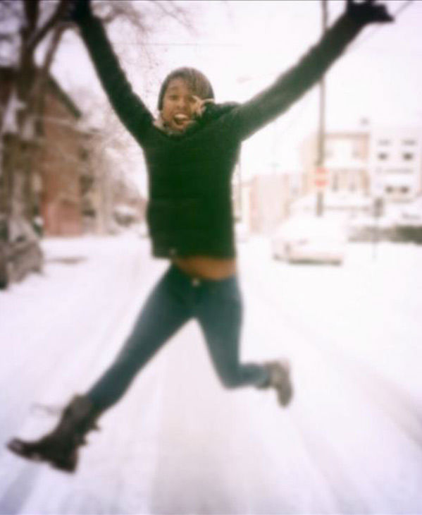 "<div class=""meta ""><span class=""caption-text "">This is Miya having fun in the snow! (submitted photo)</span></div>"