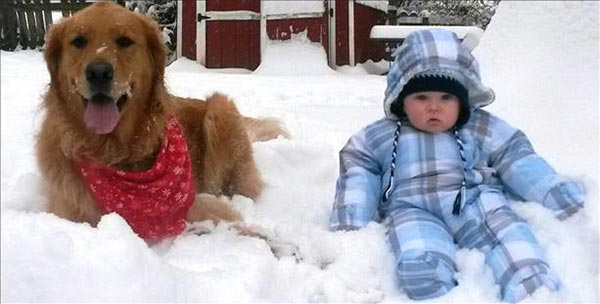 "<div class=""meta ""><span class=""caption-text "">Enjoying the snow with his best bud, Charlie- Brookhaven, PA</span></div>"