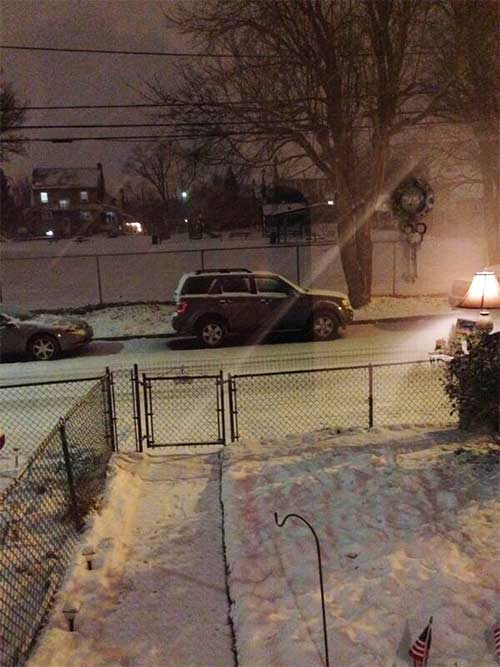 Kim Daniel took this photo from Upper Darby and sent it to us via twitter using #6abcsnow