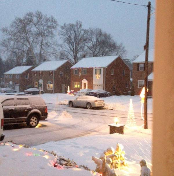 Thomas McKee sent us this photo from Havertown, Pa.