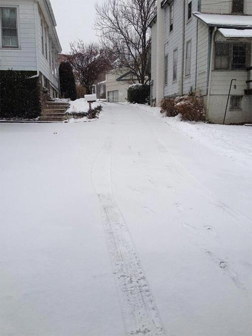 Action News' viewer Valerie Bestetti took this photo in Perkasie, Pa!