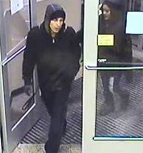 "<div class=""meta ""><span class=""caption-text "">Police in Gloucester Township, Camden County are asking for the public's help in finding two suspects in the theft of a car from the Wawa store on Black Horse Pike. The first suspect is described as a white male, 18-20 years of age, wearing a black knit cap, a black and gray plaid hooded sweatshirt, under a black jacket, blue jeans, and black sneakers.  The second suspect is described as a black female, 18-20 years of age, black hair, wearing a black hooded sweatshirt, blue jeans with a rip in the right leg and black shoes.  If you have any information on the identity or whereabouts of the suspects you are asked to call the Gloucester Township Police Anonymous Crime Tip Line at 856-842-5560.</span></div>"