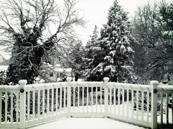 Jason Castellente tweeted us this snow photo...