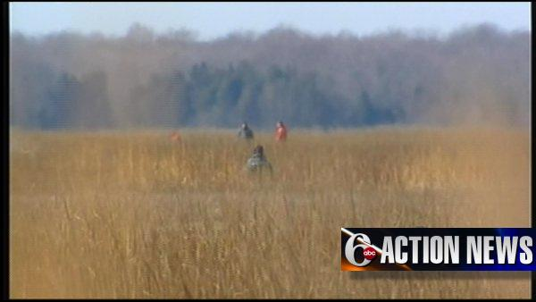 VIDEO: Search for missing hunters