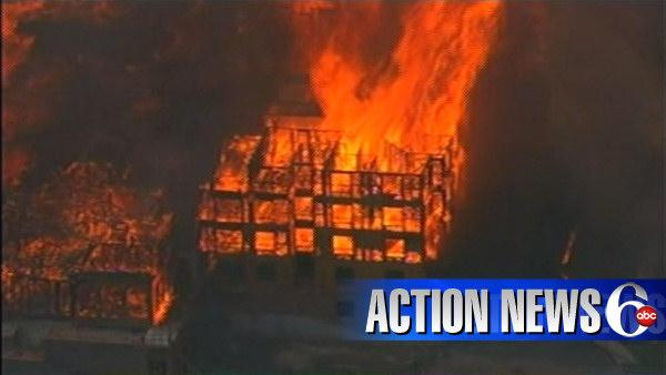VIDEO: Devastating fire