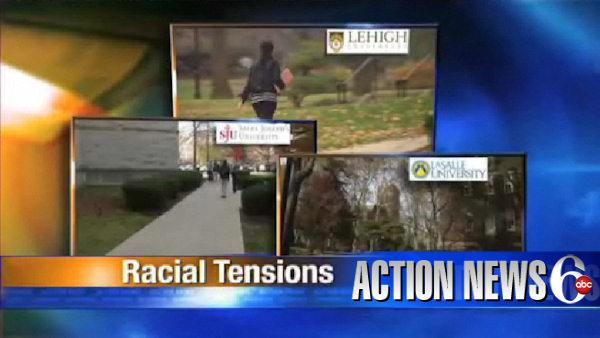 VIDEO: Racial incidents at 3 local colleges