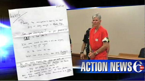 VIDEO: Casino shooting suspect sent letter to 6abc