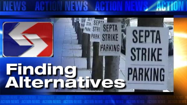 VIDEO: Alternatives during SEPTA strike