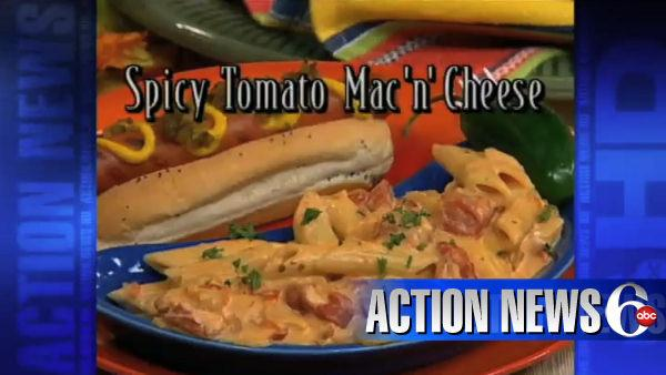 VIDEO: Mr. Food - Spicy Tomato Mac 'n' Cheese