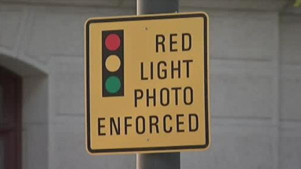 Fines being issued for red light violators