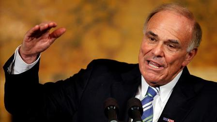 Pennsylvania Gov. Ed Rendell speaks during a news conference at the Capitol in Harrisburg, Pa., Thursday, Dec. 17, 2009.