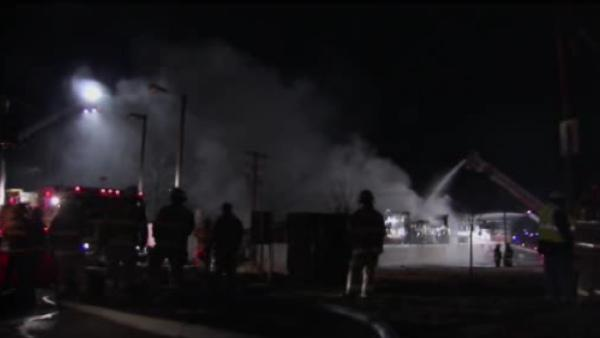 Bowling alley fire in Vineland, NJ