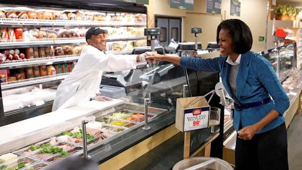 Michelle Obama visits Philadelphia