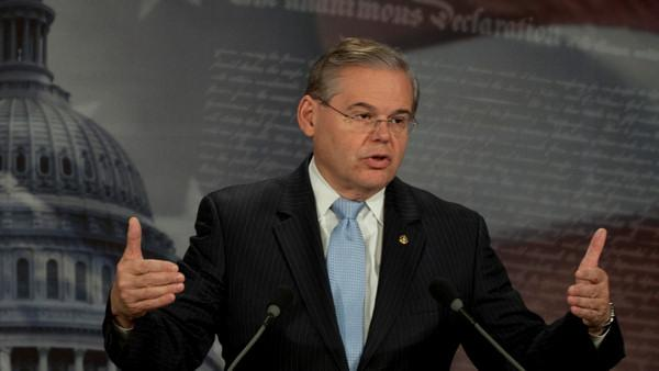 Menendez: reimbursed donor $58.5K for 2 trips