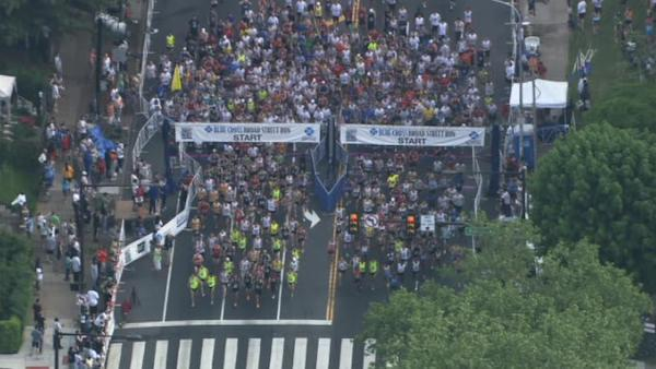 Watch the start of the Broad Street Run