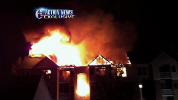 EXCLUSIVE viewer video of Coatesville fire