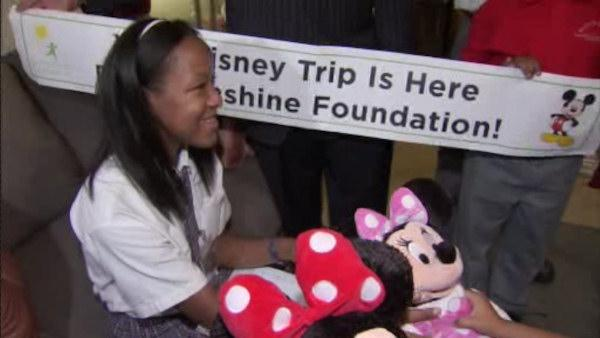 Kadeja Walker, you're going to Disney World!