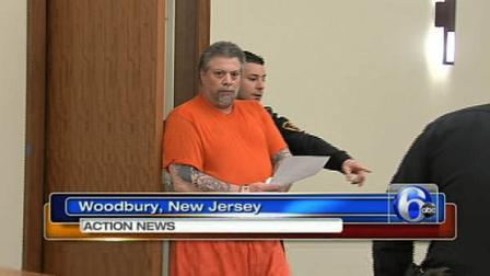 """Steven """"Gorilla"""" Mondevergine appearing in a New Jersey courtroom on ..."""