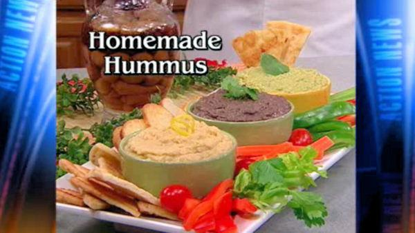 Mr. Food: Homemade Hummus
