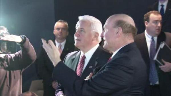 Day after budget: Corbett visits Microsoft Tech Center