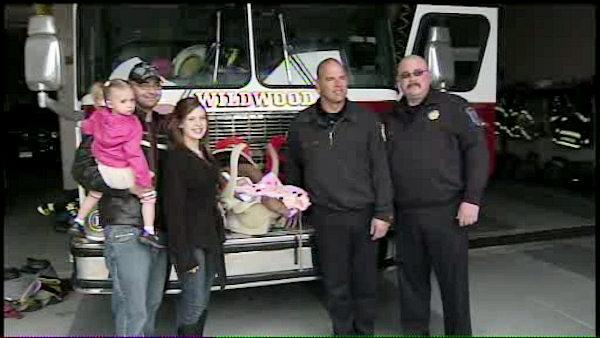 Hero firefighters deliver baby in Wildwood