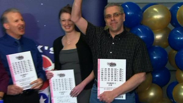 Mega Millions winners introduced