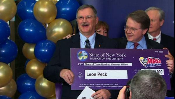 Watch video of the Mega Millions winners