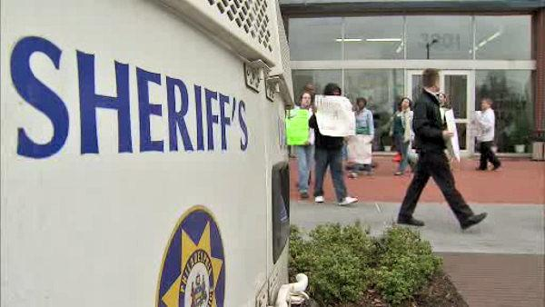 Sheriff's sale protest: