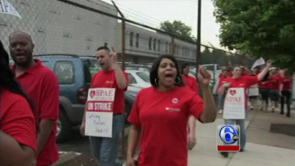 Red Cross workers in Philly area on strike