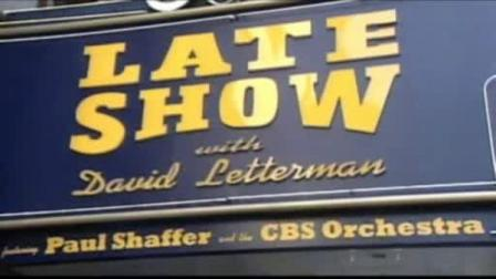 A 42-year-old man broke into the Ed Sullivan Theater where the Late Show With David Letterman is filmed.