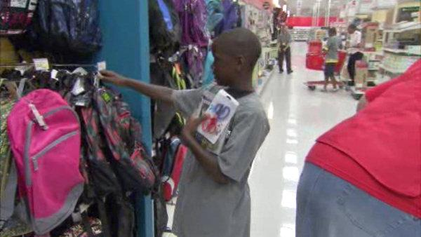 Back to school shopping spree for 20 lucky kids
