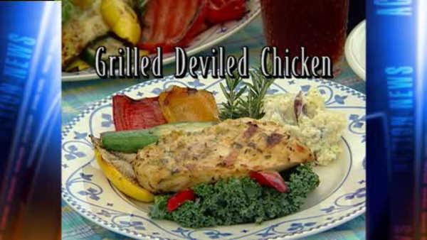 Mr. Food: Grilled Deviled Chicken