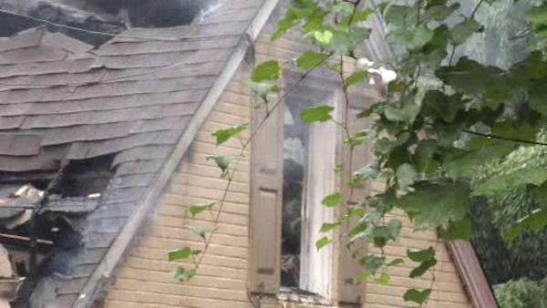 West Chester house hit by lightning