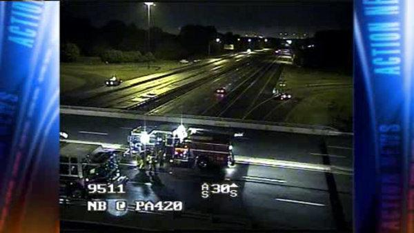 Hazmat situation cleared, I-95 reopened