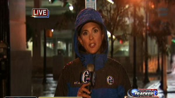Amy Buckman reporting from Wilmington - 5am