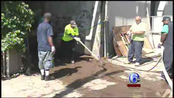 Manayunk businesses clean up from Irene