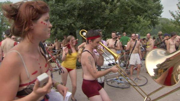 Philadelphia Naked Bike Ride 2011