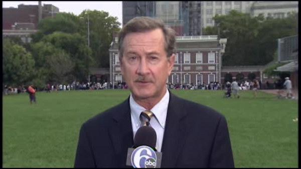 David Henry reports from Independence Mall