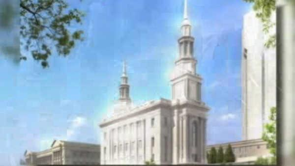 Groundbreaking for new Mormon temple in Center City