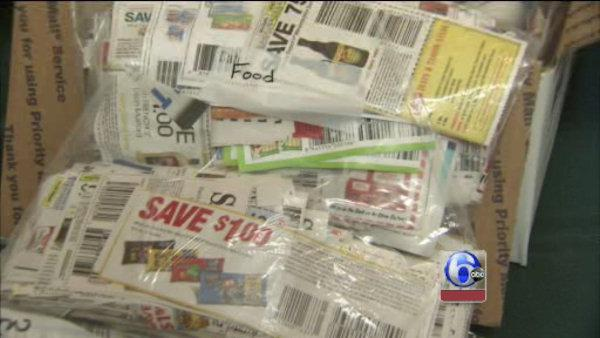 Send unused coupons to military families