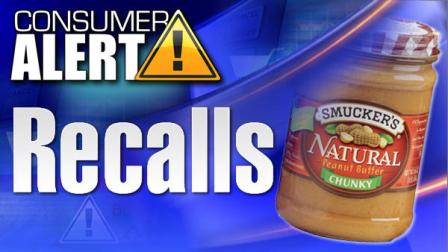 Smucker recalls jars of chunky peanut butter
