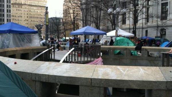 Police monitor Occupy Philly eviction